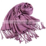 Wholesale new product winter100% bamboo scarf,plain jacquard women scarves, wild warm scarf