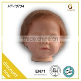 Child toy oem styling head toy, wefted mohair/ reborn wig babies