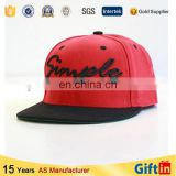 High resolution digital printed custom hat with leather strap