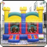 Hot sale inflatable toddler bouncer castle,bouncy printing town,kids jumping playground houses