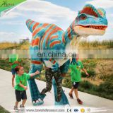 KAWAH Animatronic Adult Life Like Man Riding Dinosaur Costume