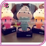 Hot selling cute design LED baby night light high quality ice cream baby night lamp