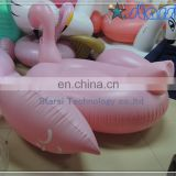 Cheap Stock giant pool float Pink inflatable flamingo