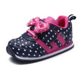 Cute bowknot ornament girls kids shoes wholesale