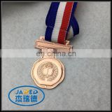 Custom School Gold Medal Bronze Sports Medal For Students