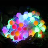 220V 10M 100LED Ball Fairy String Light IP44 for Home Garden,Party,Wedding Holiday Christmas decoration Garland Light EU