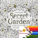 secret Garden An Inky Treasure Hunt and Coloring Book