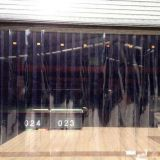 Free Sample PVC Market Door Curtain Factory OEM Transparent Commerical Curtain 2.5MM Thickenness 18.5CMx40M