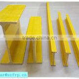 FRP fiberglass I beam/frp the wall to strengthen grille
