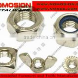 Carbon steel,stainless steel,brass hex serrated flange nut manufacturer