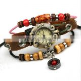 winding leather bracelet watch chain bracelet watches ladies jewelry bracelet watch
