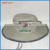 Wholesale Promotional Custom High Quality Blank Design You Own Mesh Plain Bucket Hat With String