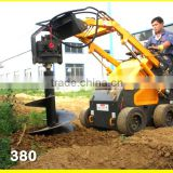 mini skid steer loader,mini auger drill,dingo Bobcat like,quick hitch,various attachments