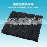 FRS-ACM-002 Activated carbon filter polyurethane foam (factory price)