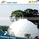 Geodesic dome tent Event dome tent White PVC cover White Car Roof Top Tent for sale