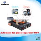 LY 949V 14 inches semi-automatic built-in vacuum pump tablet LCD screen separator with middle frame separating function