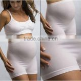 Maternity nice underwear breathable sexy boxer brief thick soft underwear for mummy support band