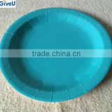 Paper Material and Disposable,Stocked,Eco-Friendly Feature Custom Printed Disposable Paper Plates