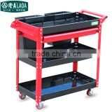 best-selling foldable 4 layer tool trolley multifunction plastic tool trolley cart                                                                                                         Supplier's Choice