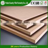 China Factory Sanded Raw MDF/Plain MDF, HDF /Melamine MDF Board