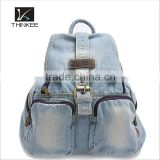 china alibaba shop leisure denim travel backpack bags woman ladies                                                                         Quality Choice