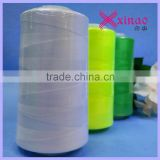 sewing thread 40/2 5000m ( black and white and other colors, AAA grade, manufacturer from China )