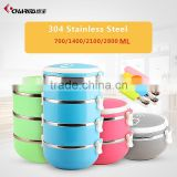 Wholesale Bento Box,Stackable Insulated Kid 3 Compartment Food Container                                                                         Quality Choice                                                     Most Popular