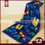 2016 hot sale microfiber custom cartoon printed beach towel                                                                         Quality Choice