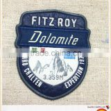 Custom patch gold thread colorful slim embroidery anya woven patches for jackets/sweater/bag