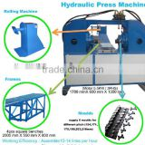 Sell track chain pin bushing pess remover machine