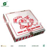 WHITE COLOR KRAFT PIZZA BOX