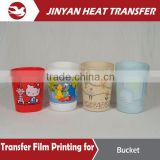 best sale heat transfer paper for plastic bucket