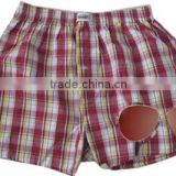 summer plaid boxer shorts kidswear children's beach wear boys beach shorts                                                                         Quality Choice