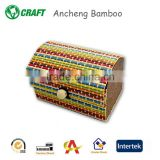 arts and crafts custom made bamboo box jewelry gift boxes