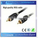 Coaxial Audio/Video RCA Cable alibaba express