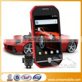 "Unlocked android 2.3 F599 mobile 3.5"" Capative touch screen MTK 6515m dual sim fm java game"