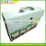 Metal handling file folder carrying case