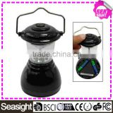 mini Black 6 LED Camping Bivouac Lantern Lamp Torch Portable 6 LED Camping Hiking Tent Lantern Light