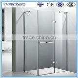 3 side glass free standing shower enclosure                                                                         Quality Choice