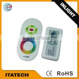 12V~24VDC 20~30m remotecontrol distance 2.4G RGB wireless touch controller/Dimmer for led light