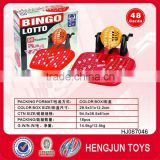 plastic toys 90pcs number bingo game set toy ernie made in shantou toy factory