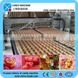 Depositing soft jelly candy making machine in hot sale