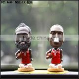 Hot sale Polyresin basketball Boy Bobble Head/player shaking head bobble head