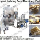 KH full automatical chocolate wafer egg roll machine / wafer egg roll biscuit equipment made in China