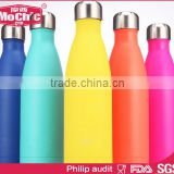 Mochic wholesale 500ml Custom vacuum flak double wall 304 SS Sports Water Bottle / colorful 750ml Cola vacuum insulated bottle