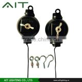 AIT-YOYO-002 high quality heavy-duty easy roller with stainless wire for indoor garden reflector hangers