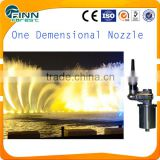 Customize lager lake water one dimensional fountain nozzle adjustable 3d nozzle fountain