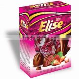 Elise single twist cocolin, compound chocolate, chocolate