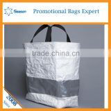 Wholesale Factory price Kraft paper material dupont tyvek tote bag for shopping                                                                                                         Supplier's Choice