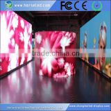 Shanghai good supplier hd p3.91 indoor curve led display screen with die casting aluminum cabinet 500*500mm